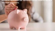 Разумная экономия: Как научиться читать 4 книги в месяц и при этом экономить